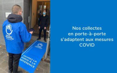 Handicap International – Collecte porte à porte